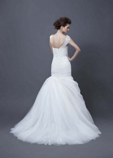 Picture of Back of Hadara Wedding Dress - Enzoani 2013 Collection