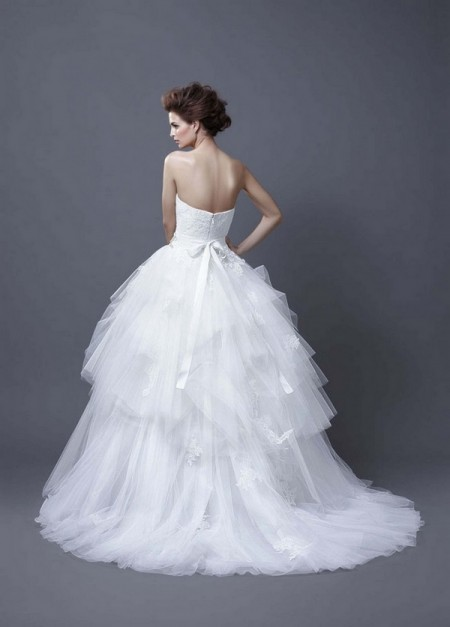 Picture of Back of Hadil Wedding Dress - Enzoani 2013 Collection