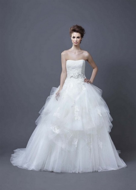 Picture of Hadil Wedding Dress - Enzoani 2013 Collection