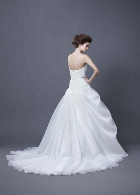 Picture of Back of Hala Wedding Dress - Enzoani 2013 Collection