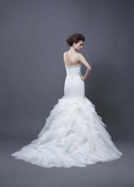Picture of Back of Haldana Wedding Dress - Enzoani 2013 Collection