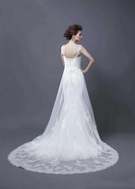 Picture of Back of Halia Wedding Dress - Enzoani 2013 Collection