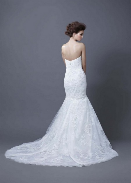 Picture of Back of Halima Wedding Dress - Enzoani 2013 Collection