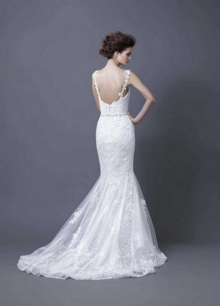 Picture of Back of Hanako Wedding Dress - Enzoani 2013 Collection