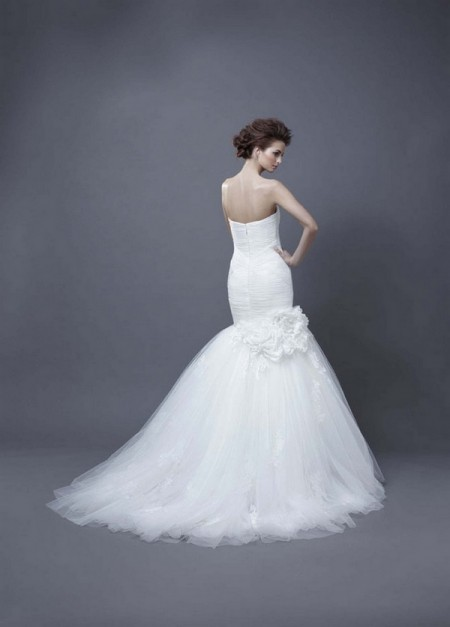 Picture of Back of Harika Wedding Dress - Enzoani 2013 Collection