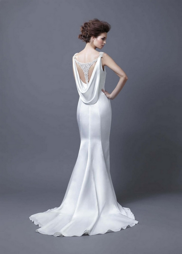 Picture of Back of Harmony Wedding Dress - Enzoani 2013 Collection