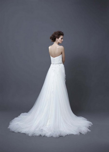 Picture of Back of Helen Wedding Dress - Enzoani 2013 Collection
