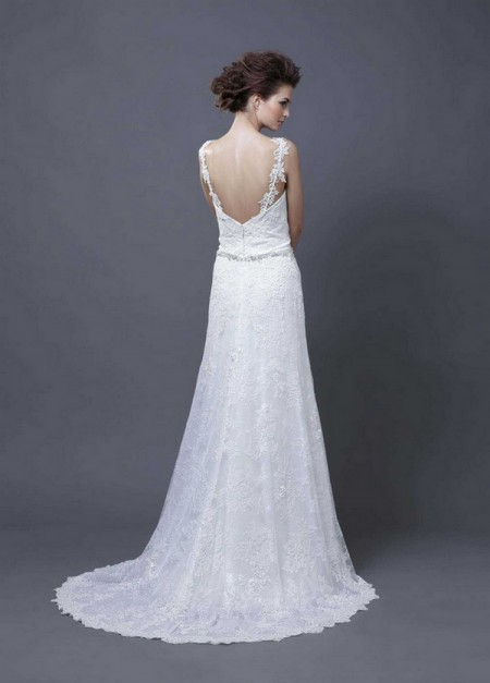 Picture of Back of Helina Wedding Dress - Enzoani 2013 Collection