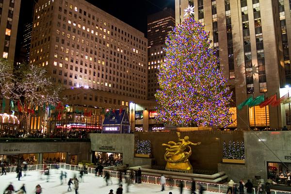 Rockefeller Ice Rink, New York, USA