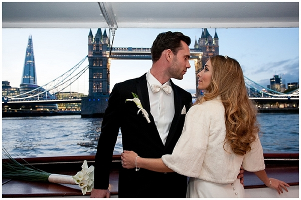 Art Deco Wedding Shoot on the Barracuda in London