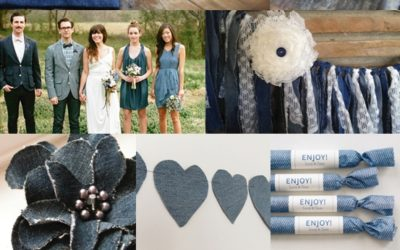Denim Wedding Styling