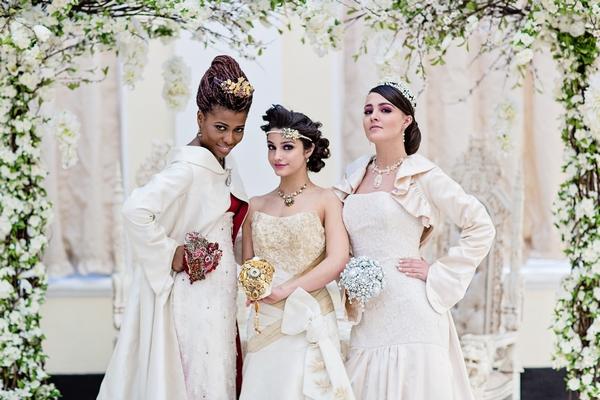 'Majestic Splendour' Wedding Shoot at Blenheim Palace