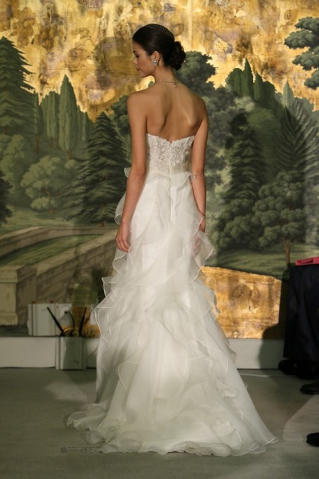 Picture of Back of Acacia Wedding Dress - Anne Barge Spring 2014 Collection