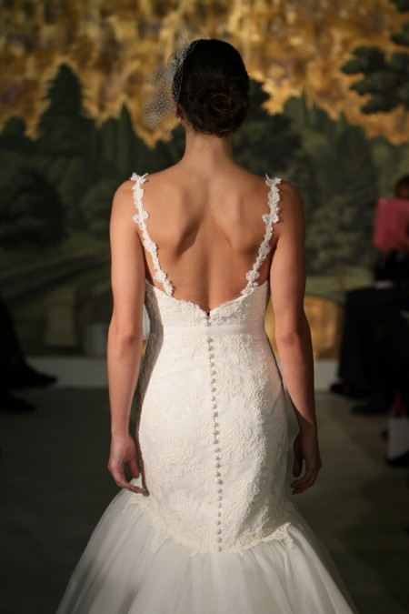 Picture of Back of Astere Wedding Dress - Anne Barge Spring 2014 Collection
