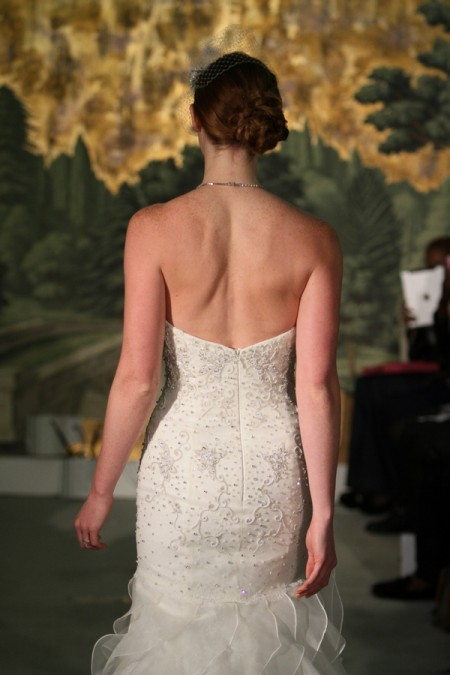 Picture of Back of Belle De Jour Wedding Dress - Anne Barge Spring 2014 Collection
