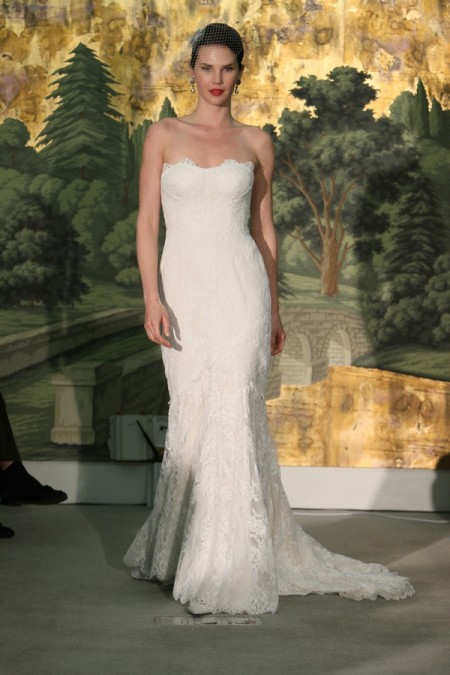 Picture of Bouquet Wedding Dress - Anne Barge Spring 2014 Collection
