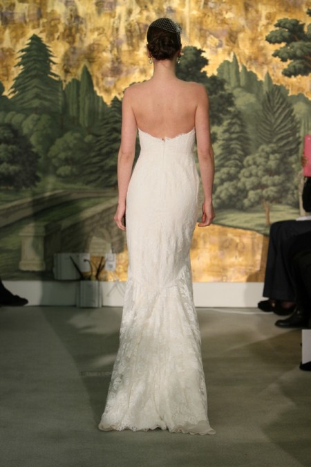 Picture of Back of Bouquet Wedding Dress - Anne Barge Spring 2014 Collection
