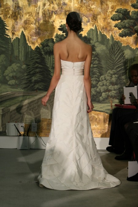 Picture of Back of Grenadier Wedding Dress - Anne Barge Spring 2014 Collection