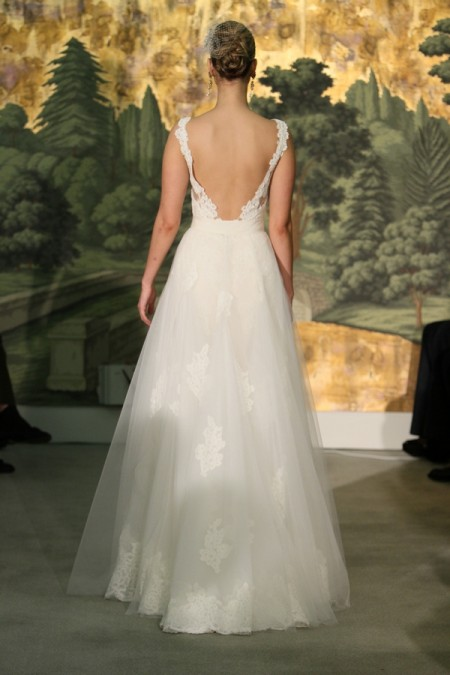 Picture of Back of Hyacinthe Wedding Dress - Anne Barge Spring 2014 Collection