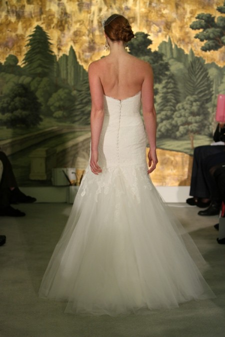 Picture of Back of Marguerite Wedding Dress - Anne Barge Spring 2014 Collection