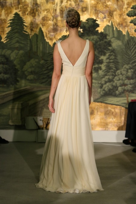 Picture of Back of Osmonde Wedding Dress - Anne Barge Spring 2014 Collection