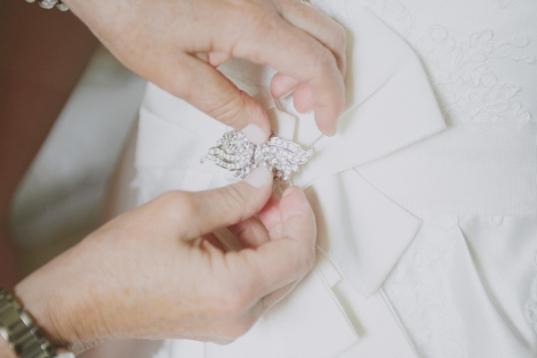 Bride's brroch