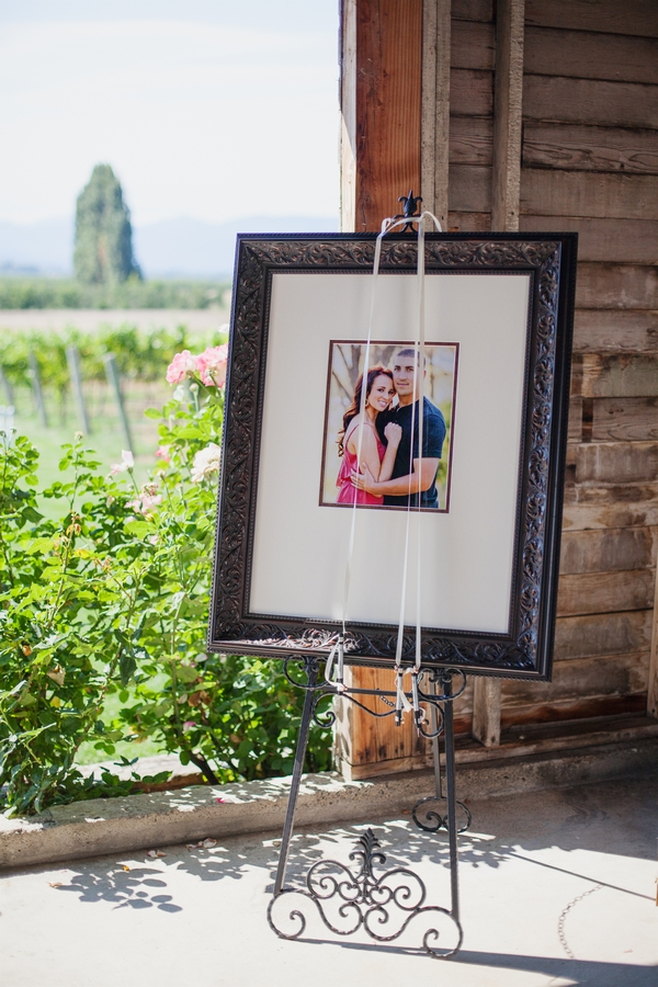 Framed picture of couple