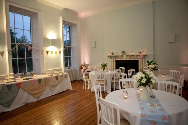 Wedding reception at Clissold House