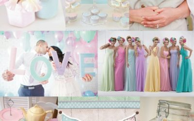 Pastel Wedding Colours