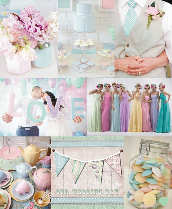 Pastel Blue Wedding Theme: The Wedding Community Blog