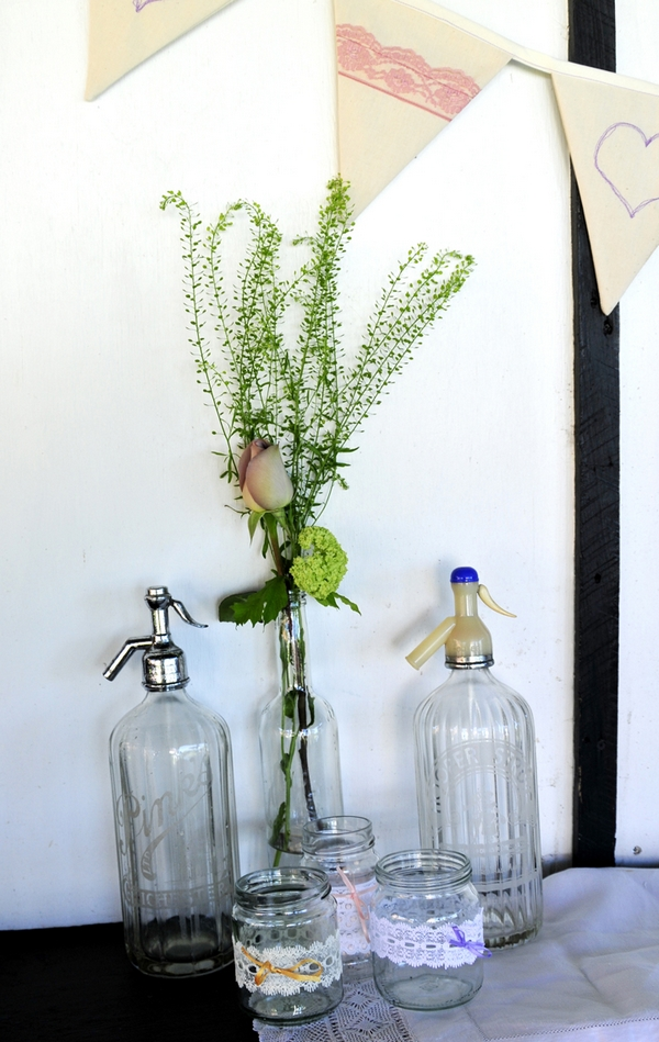 Bottle vases