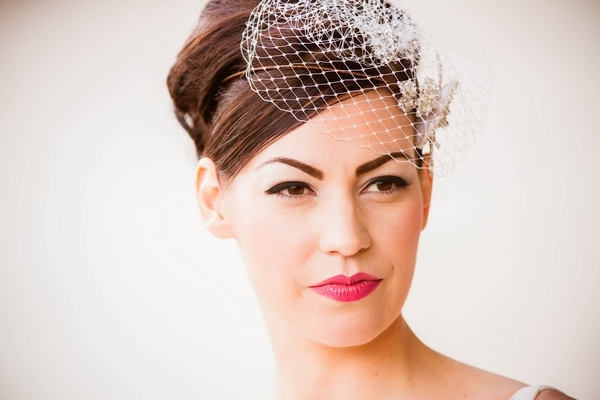 Bride with fascinator
