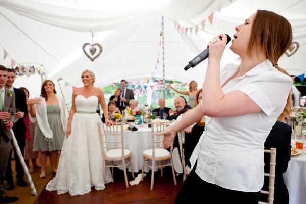 Wedding signer from Undercover Superstars