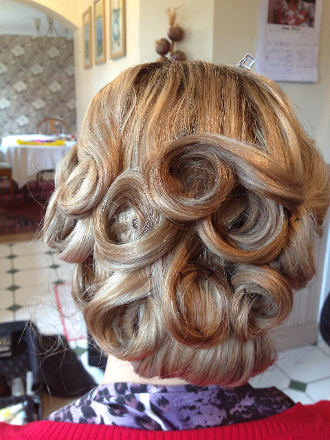 Curls in hair - Hair by Claire Salter