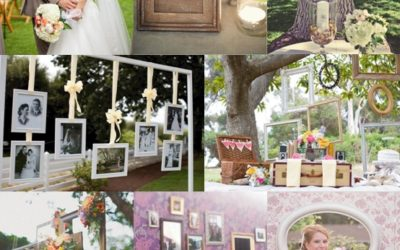 Picture Frame Wedding Decorations