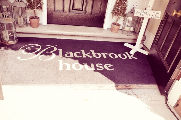 Blackbrook House door mat