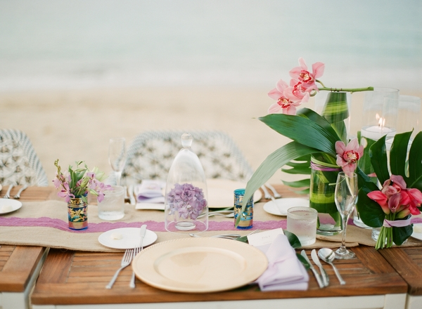 Wedding table place