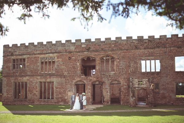 Wedding picture at Astley Castle