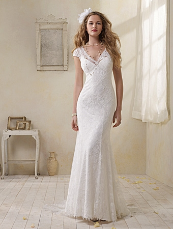 8501 Wedding Dress - Alfred Angelo Modern Vintage Bridal 2014 Bridal Collection