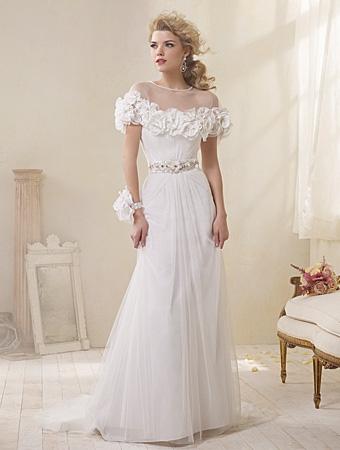 8503J Wedding Dress - Alfred Angelo Modern Vintage Bridal 2014 Bridal Collection