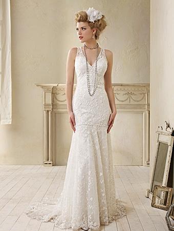 8507 Wedding Dress - Alfred Angelo Modern Vintage Bridal 2014 Bridal Collection