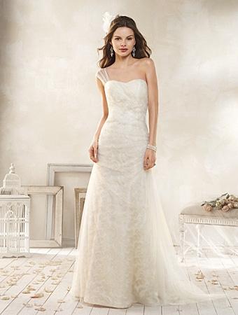 8512 Wedding Dress - Alfred Angelo Modern Vintage Bridal 2014 Bridal Collection