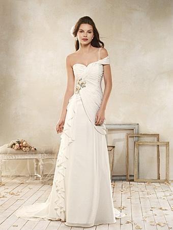 8514 Wedding Dress - Alfred Angelo Modern Vintage Bridal 2014 Bridal Collection