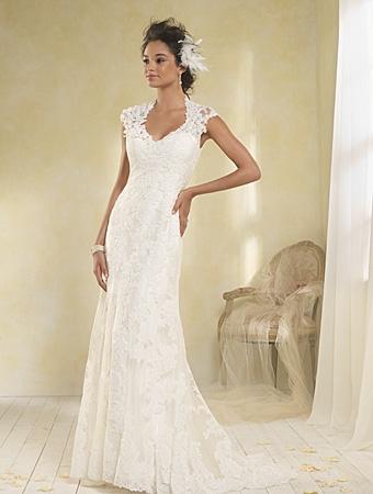 8516 Wedding Dress - Alfred Angelo Modern Vintage Bridal 2014 Bridal Collection