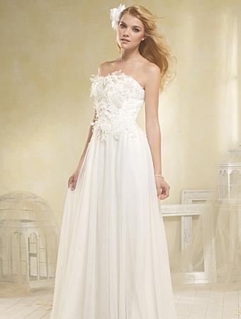 8518 Wedding Dress - Alfred Angelo Modern Vintage Bridal 2014 Bridal Collection