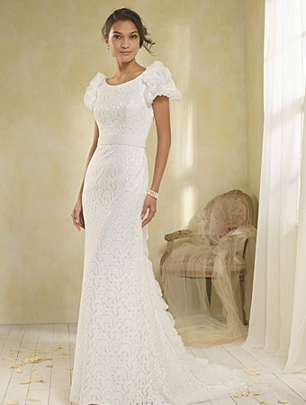 8519 Wedding Dress - Alfred Angelo Modern Vintage Bridal 2014 Bridal Collection
