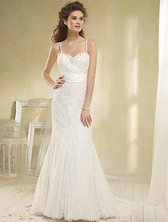 8520 Wedding Dress - Alfred Angelo Modern Vintage Bridal 2014 Bridal Collection