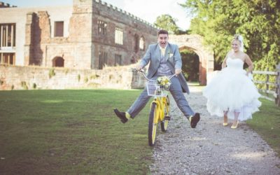 A Shabby Chic Wedding with Hints of Yellow