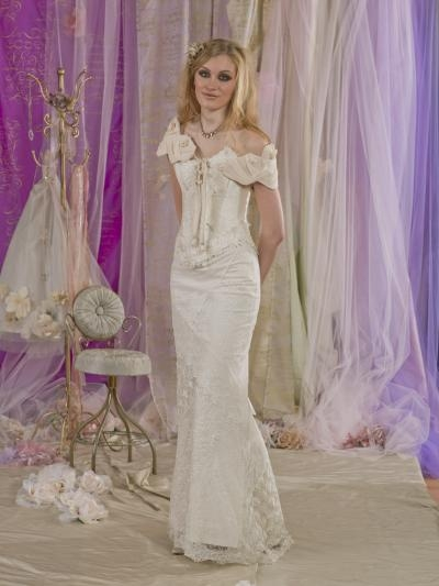 Frisson Wedding Dress with Shrug - Terry Fox Much More Muchier 2014 Collection