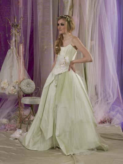 La Fee Verte Wedding Dress - Terry Fox Much More Muchier 2014 Collection